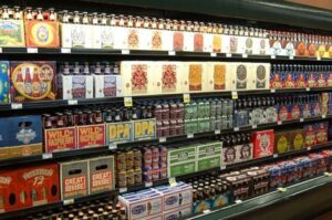beer at King Soopers